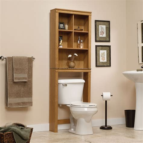 sauder bathroom storage 18 space saving ideas for your bathroom living in a shoebox
