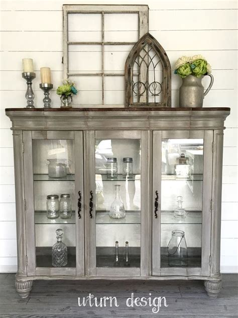 Best 25  Repurposed china cabinet ideas on Pinterest   China cabinet redo, China hutch makeover