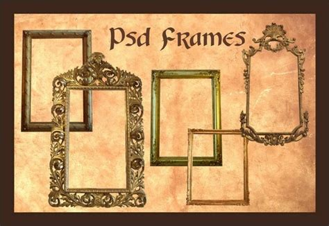 vintage frame templates for photoshop 8 vintage frames psd free images picture frame photoshop