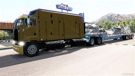 kenworth k100 kenworth k100 1 5 american truck simulator mods