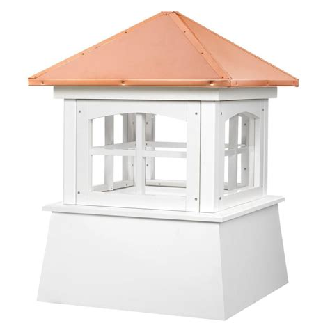 Vinyl Cupola directions huntington vinyl cupola with copper roof