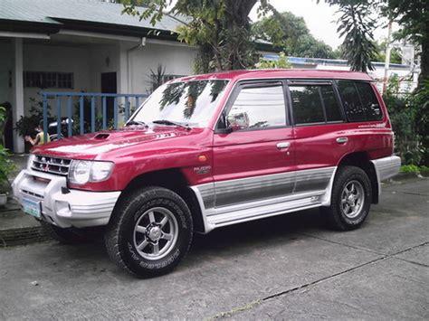 how to fix cars 2004 mitsubishi pajero user handbook 2004 mitsubishi pajero montero pajero sport workshop repair ser