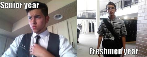 Senior Year Meme - time memes college freshman vs senior funny school 18216