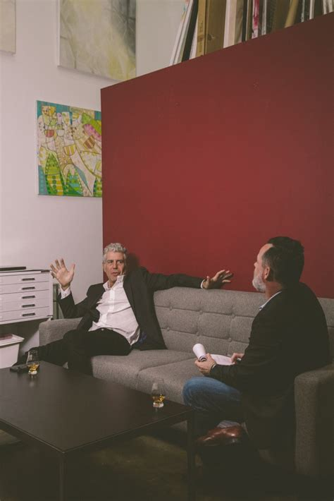 anthony bourdain and tre cool yes anthony bourdain really is that cool a