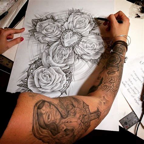 tattoo flower pieces 25 best ideas about thigh piece on pinterest mandala