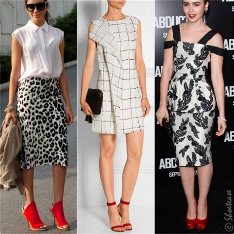 Stripi Dres Black what color shoes to wear with black and white dress