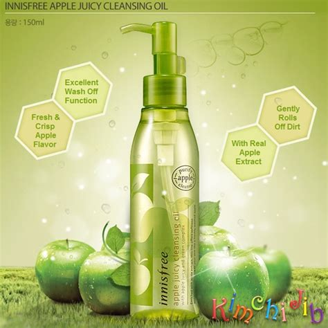 Innisfree Apple Cleansing innisfree apple cleansing kimchi jib