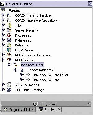 tutorial rmi netbeans rmi corba and netbeans java tutorial developer fusion