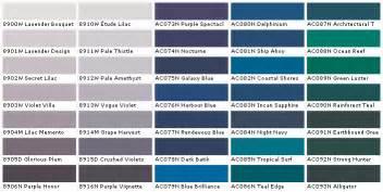 frazee paint colors chart images