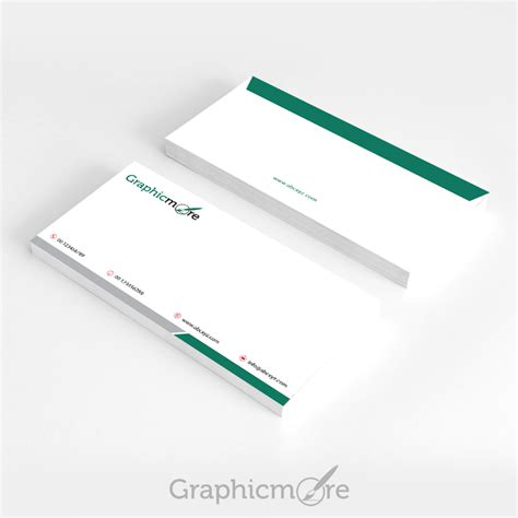 Green Corporate Envelope Design Free PSD File Download
