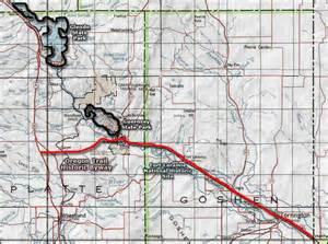 oregon trail wyoming map fort laramie national historic site wyoming national