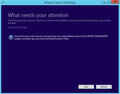 upgrade windows server   domain controller
