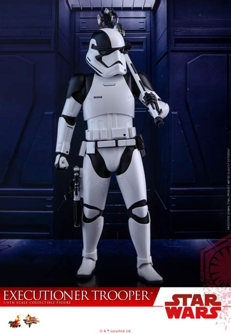 Hottoys Cosbaby Trooper Order wars the last jedi order executioner trooper toys collectible figure unveiled