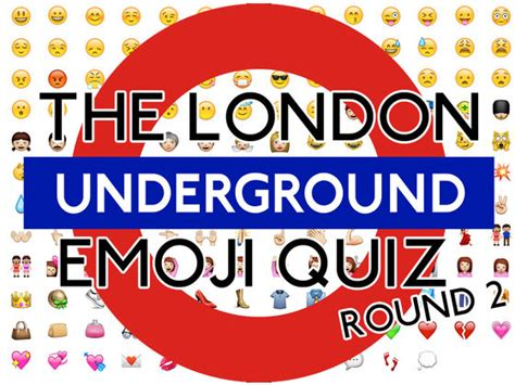 themes for quiz picture rounds tube station name emoji quiz round 2 playbuzz