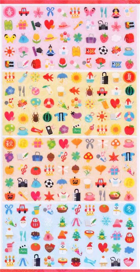 Sale Shimmer Waves kawaii mini item shimmer stickers by mind wave