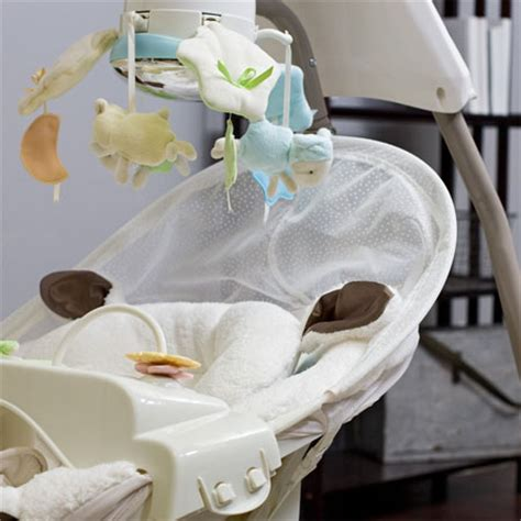 baby swing offers little lamb cradle baby swing offers comfort with style to