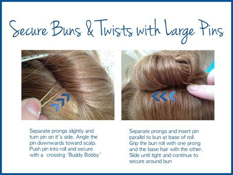 how to do a bun at the base of the neck the beauty snoop insider stylist secrets bobby pin tips