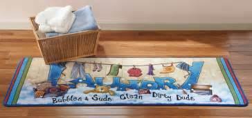 Laundry Room Runner Rugs Laundry Room Theme Cushion Floor Runner Rug Mat Decor 59 Quot X 19 5 Quot New Ebay