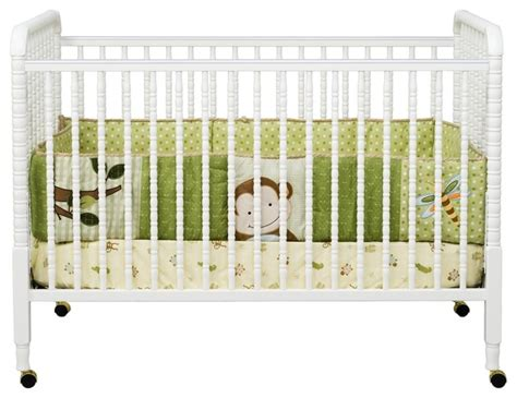 Lind Davinci Crib by Davinci Lind White Crib Traditional