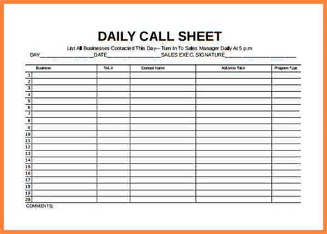 4 sales call log spreadsheet costs spreadsheet