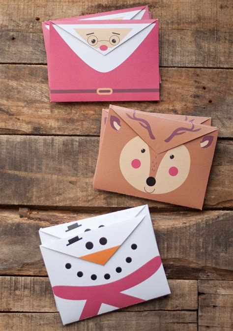 printable christmas cards and envelopes pin of the day the cutest printable christmas envelopes