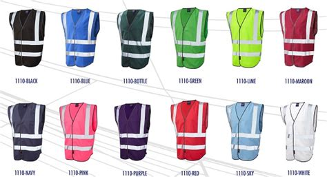 safety pink color govests safety coloured safety vests