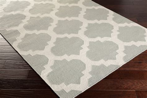 harlow rug in gray and white by artistic weavers