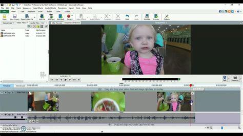 videopad software tutorial videopad video editor software trim cut tutorial youtube