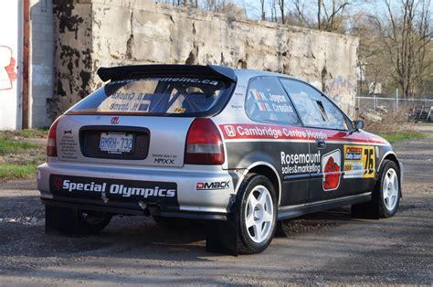 New Custom Flap Spoiler Mobil Racing Bahan Tpvc Hitam Carbon fs 1999 honda civic rally car race targa casc ontario region message forums