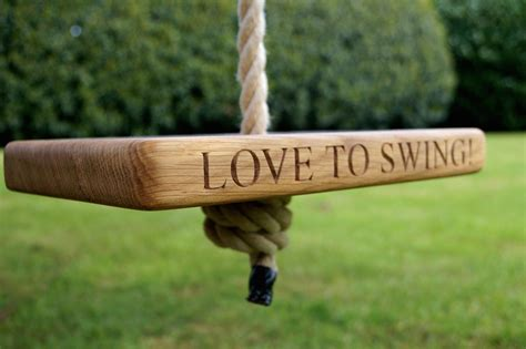 make me swing a personalised swing can add some fun to summer