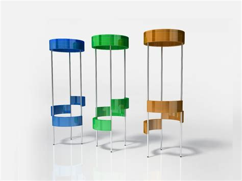 Simple Stool by Simple Stool With Smart Multilevel Footrests System S M