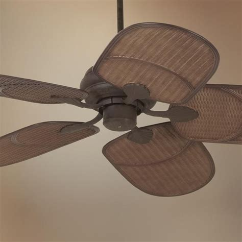 casa vieja ceiling fans 52 quot casa vieja 174 rattan outdoor ceiling fan outdoor