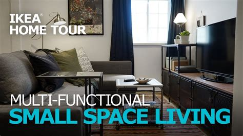 small apartment ideas ikea home  episode  youtube