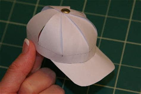 How To Make A Baseball Out Of Paper - tutorials paper baseball caps