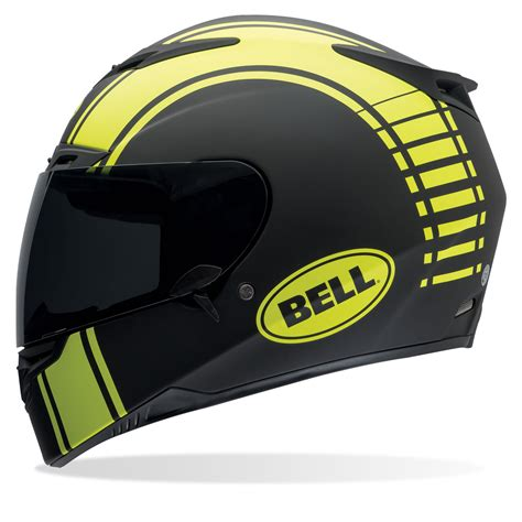 Bell Motorradhelme by Bell Rs 1 Liner Matte Black Yellow Full Face Motorcycle