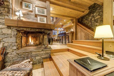 Chalet Fireplace by Chalet Montana Val D Isere Alpine Guru