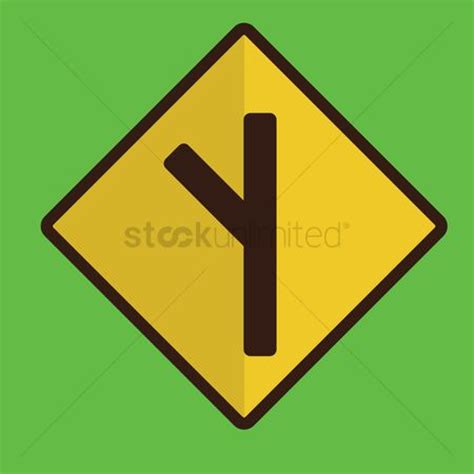 Free Crossroads Stock Vectors | StockUnlimited Y Intersection Sign