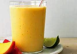 resep minuman segar smoothies mangga jeruk nipis