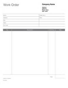 Free Work Order Template Pdf by Best Photos Of Service Work Order Template Work Order