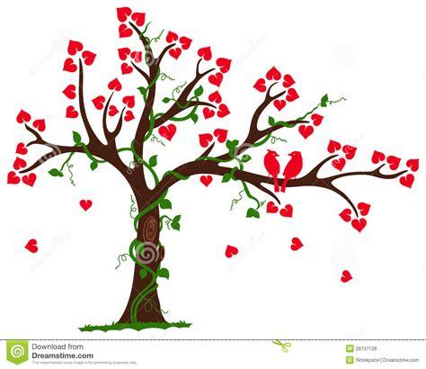 love tree heart liana vine royalty free stock image image 28727126