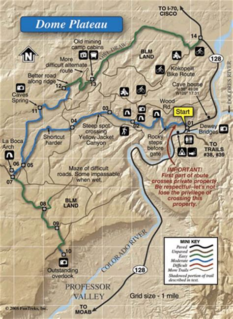 moab jeep trails map guide to utah backroads and 4 wheel drive trails vol 1