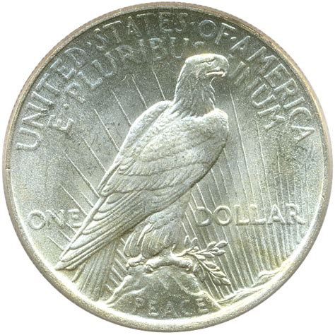 1925 silver dollar value 1925 peace silver dollar 1 pcgs ms65 buy sell