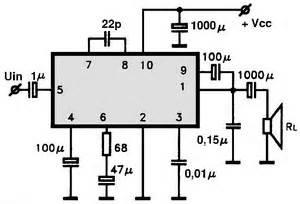 Ic Ba532 audio ic electronic circuits tv schematics audio