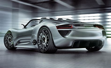 porsche 918 concept concept to reality the 918 spyder maximum bhp