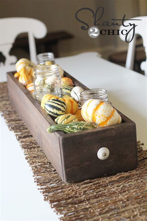 Fall Dining Table Centerpieces Fall Table Centerpiece Shanty 2 Chic