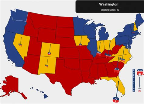 swing states 40 interactive graphics about the us election visualoop