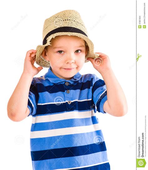 Boy And Hat Stock Images Image 31861904 Picture Of Boy And Free