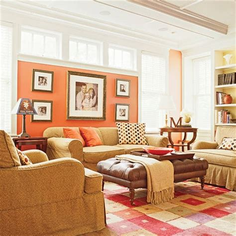 Coral Color Living Room by Coral Living Room Design Decor Ideas