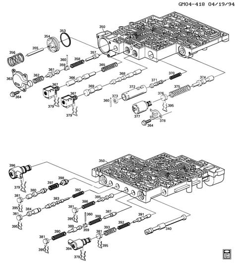 4l60e transmission diagram exploded view of 4l60e automatic transmission html autos