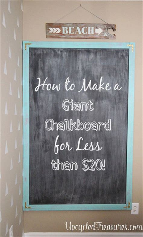 chalkboard paint easy to cover up make a chalkboard mountainmodernlife
